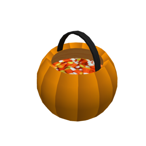 Pumpkin Trick or Treat Basket