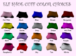 Elf Shoes Cuff Colors